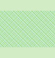green irish plaid watercolor style seamless vector image vector image