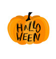 happy halloween with bat and vector image vector image