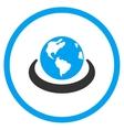 International Network Icon vector image vector image