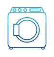 washer machine symbol vector image
