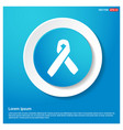 Aids awareness ribbon sign or icon