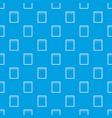 blank spiral notepad pattern seamless blue vector image vector image