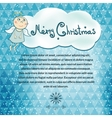 Christmas simple background vector image vector image