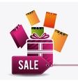 Cyber monday shopping season vector image