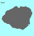 high quality map island vector image vector image