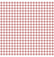 red tattersall pattern vector image