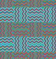 Background of colored waves vector image