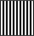 black and white simple seamless striped pattern vector image vector image