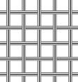chrome metal grid seamless background vector image vector image
