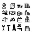 construction business icon vector image