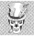 day of the dead baron samedi image vector image vector image