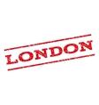 London Watermark Stamp vector image vector image