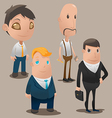 People Cartoon Worker Design Set vector image
