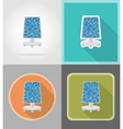 power and energy flat icons 10 vector image vector image