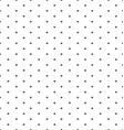 Seamless of dots vector image