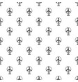 wind turbine pattern seamless vector image vector image