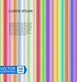 Colorful Shiny Rods vector image
