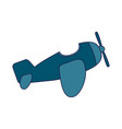 airplane baby toy vector image vector image