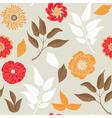 autumn prints vector image vector image
