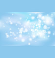 christmas new years chaotic blur bokeh of light vector image vector image