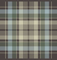 classic check plaid seamless pixel pattern vector image vector image