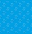 gadget crack screen pattern seamless blue vector image vector image