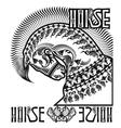 horse22dep vector image vector image