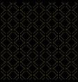 modern seamless golden pattern vector image