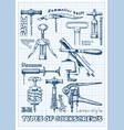 Types corkscrews