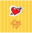 unrequited love vector image vector image
