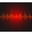 equalizer musical bar Dark background vector image