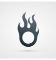fire design element vector image
