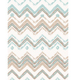 Abstract hand-drawn ethnic pattern tribal vector image vector image