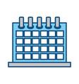 calendar event schedule vector image vector image