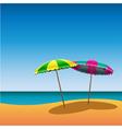 parasols vector image vector image
