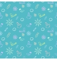 Seamless color pattern for Christmas and New Year vector image vector image