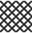 Seamless pattern with diagonal cage