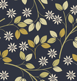 Spring seamless pattern with decorative flowers vector image vector image