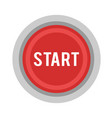 start button power button vector image vector image