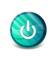 start power button ui icon design on off symbol vector image vector image