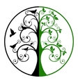 Tree of Life and Death vector image