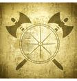 Viking Grunge Background vector image vector image