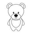 cute teddy bear toy adorable icon vector image vector image