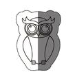 Isolated owl cartoon design vector image vector image