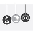 mail design vector image