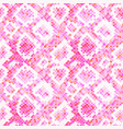pink realistic snake skin texture detailed vector image vector image