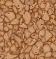 seamless cork texture vector image vector image