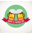 St Patricks day pub and party invitation vector image vector image