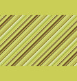 striped lines green brown seamless pattern vector image vector image
