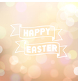 Easter colorful bokeh background vector image vector image